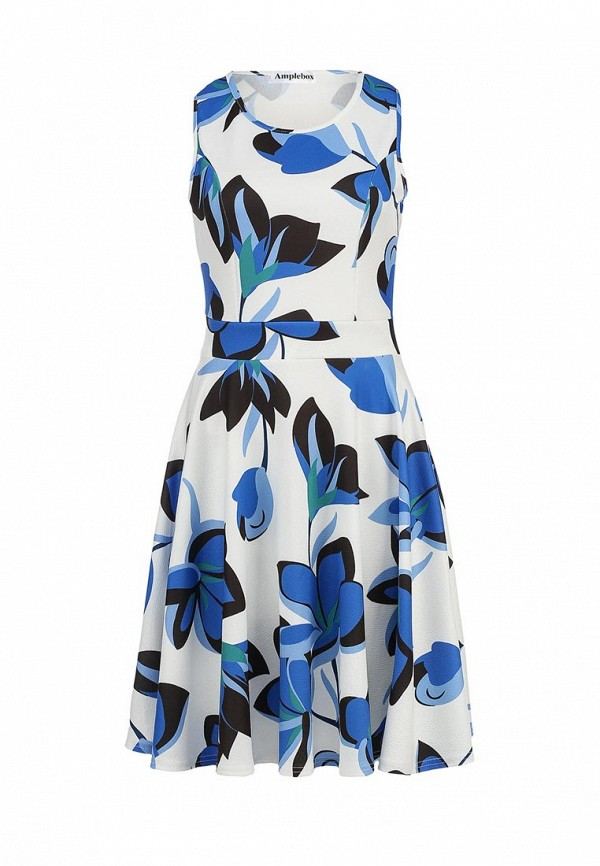 Платье-миди Amplebox 13601B: изображение 1