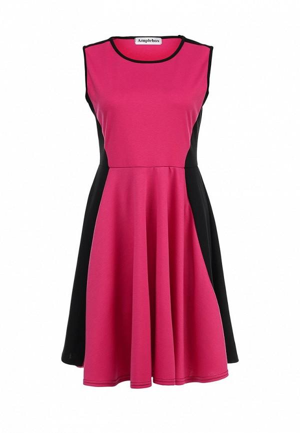 Платье-миди Amplebox 12410: изображение 1