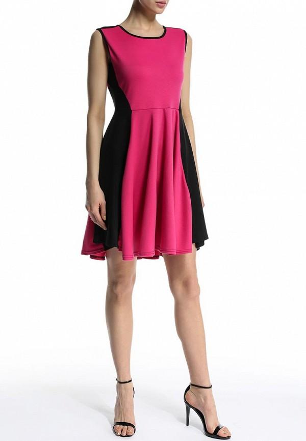 Платье-миди Amplebox 12410: изображение 3