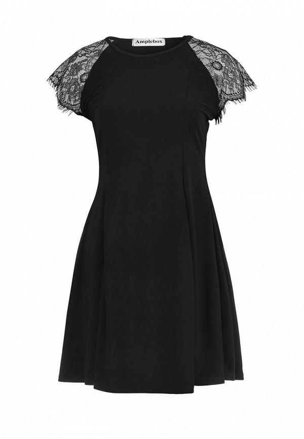 Платье-мини Amplebox 13459: изображение 1
