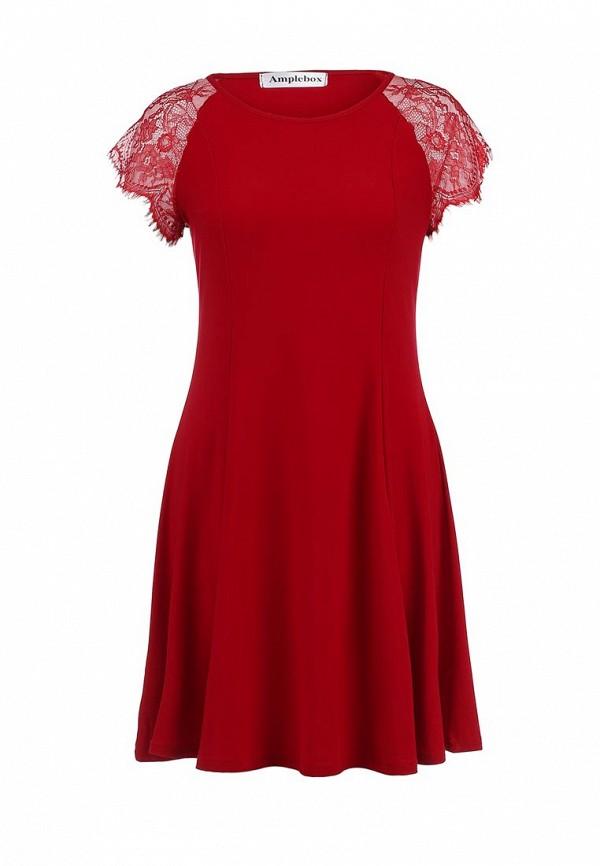 Платье-мини Amplebox 13459A: изображение 1