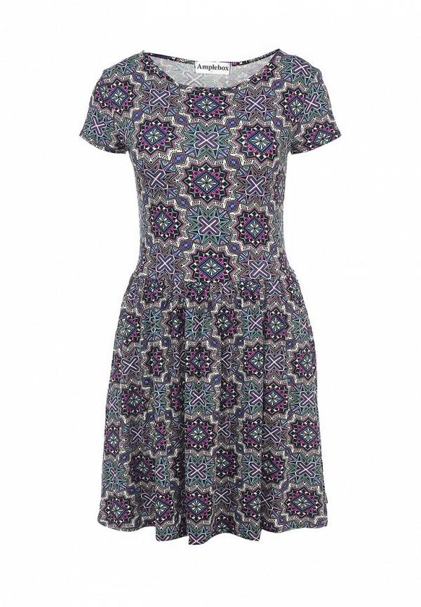 Платье-мини Amplebox 12772EC: изображение 1