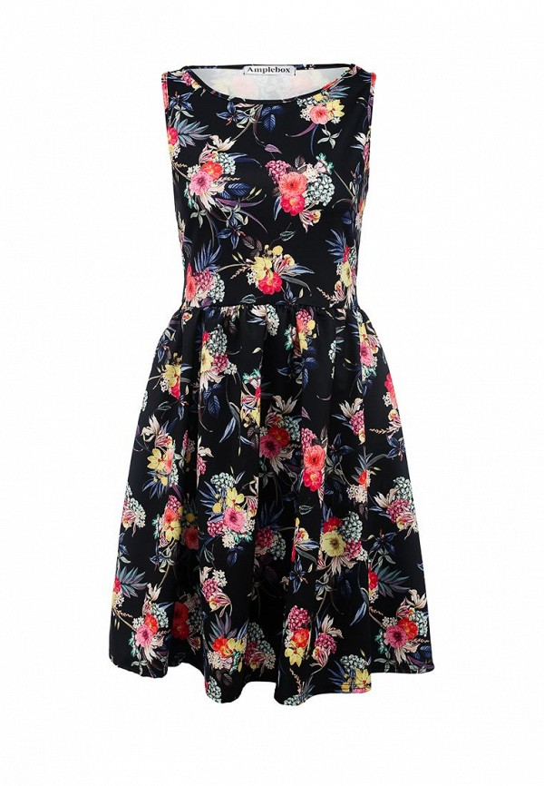 Платье-миди Amplebox 13669: изображение 1