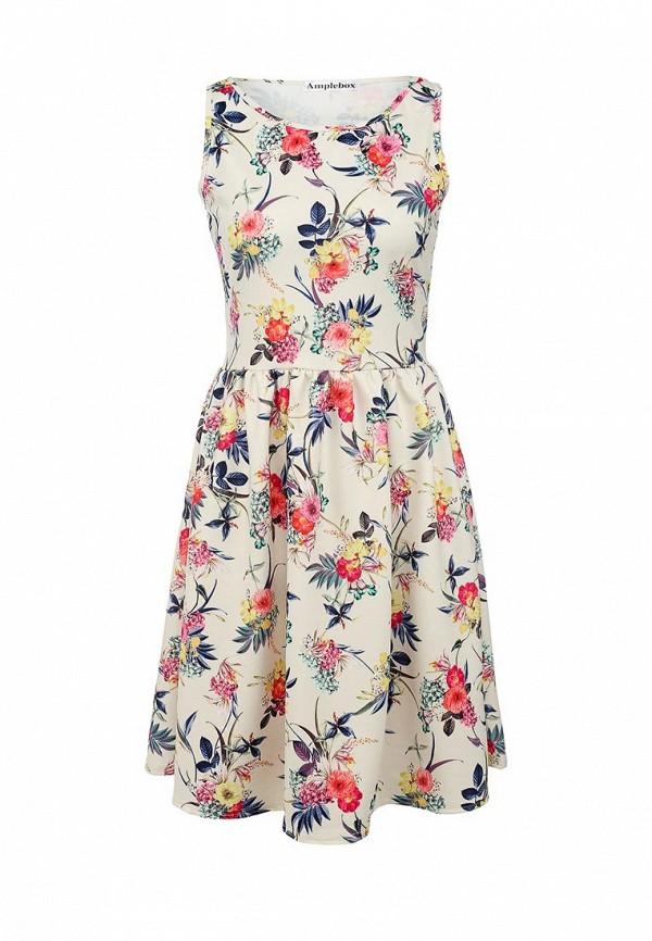 Платье-миди Amplebox 13669A: изображение 1