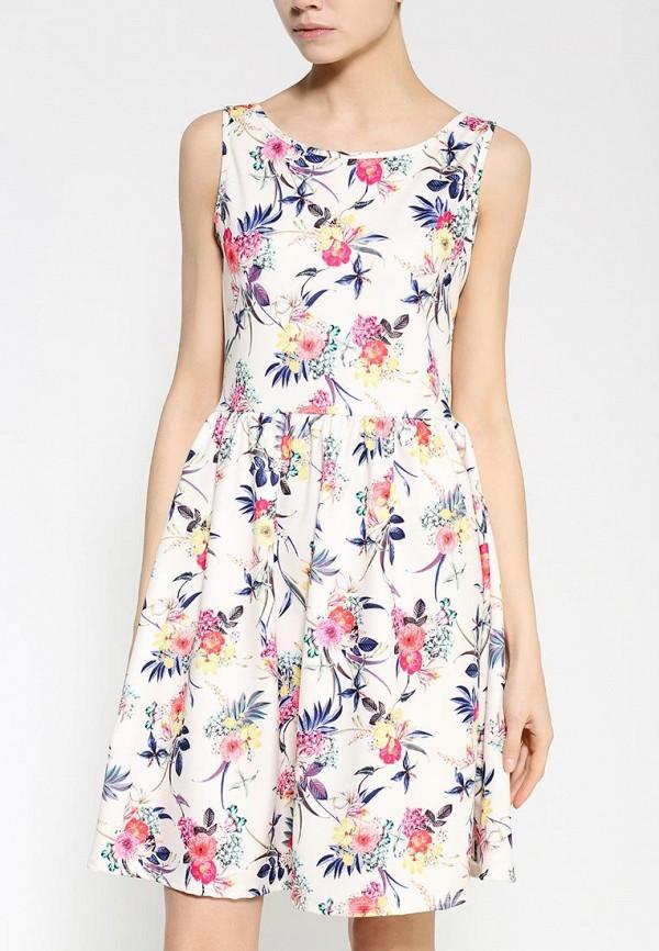 Платье-миди Amplebox 13669A: изображение 2
