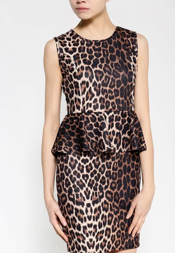 Платье-миди Amplebox 13665: изображение 2
