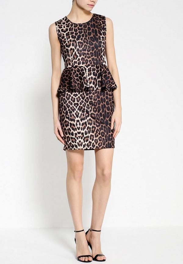 Платье-миди Amplebox 13665: изображение 3