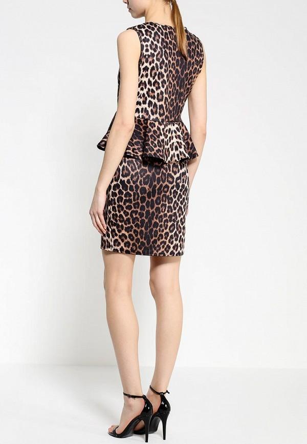 Платье-миди Amplebox 13665: изображение 4