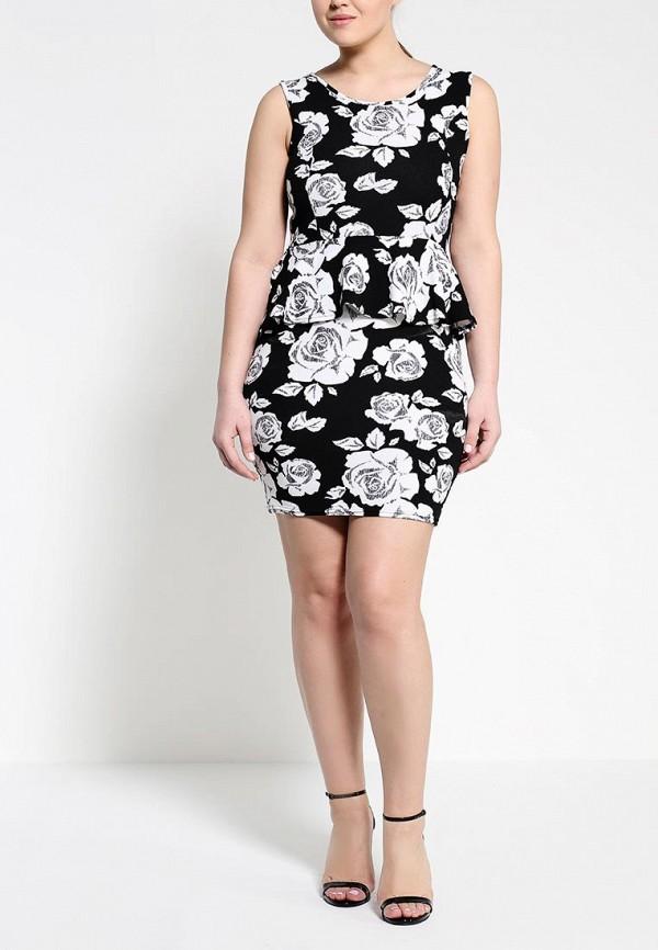 Платье Amplebox 13665A: изображение 3