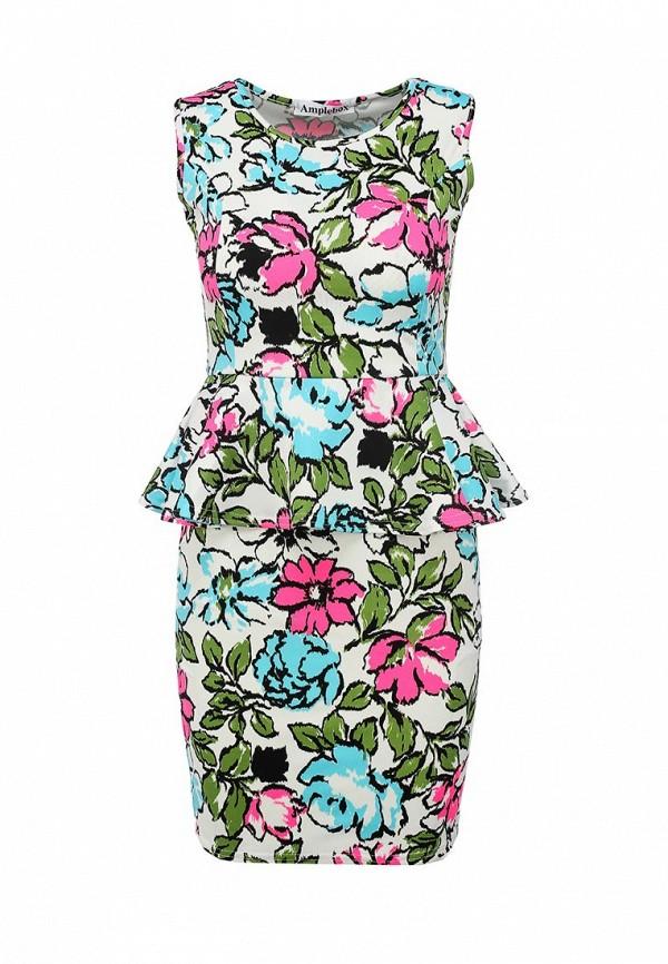 Платье-мини Amplebox 13665B: изображение 1