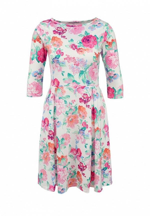 Деловое платье Amplebox 13668
