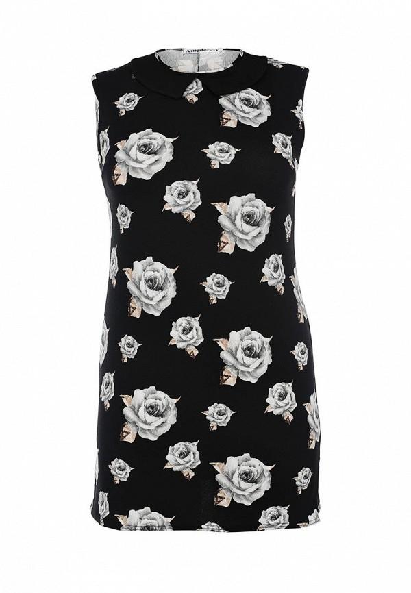 Платье-миди Amplebox 13622: изображение 1