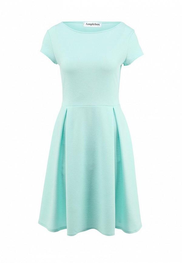 Платье-миди Amplebox 13667A: изображение 1