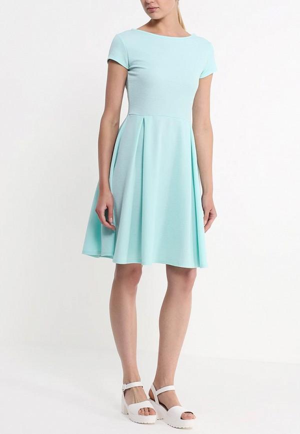 Платье-миди Amplebox 13667A: изображение 3