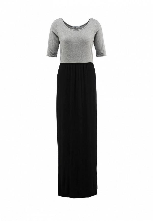 Платье-макси Amplebox 13490: изображение 1