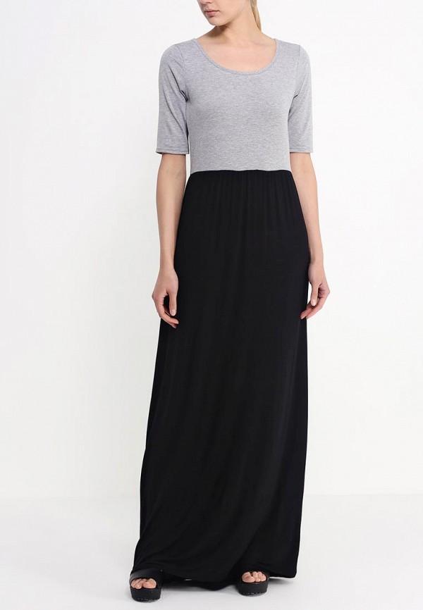 Платье-макси Amplebox 13490: изображение 3