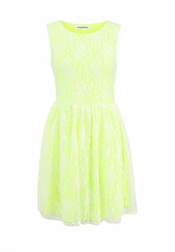 Платье-миди Amplebox 12772J: изображение 1