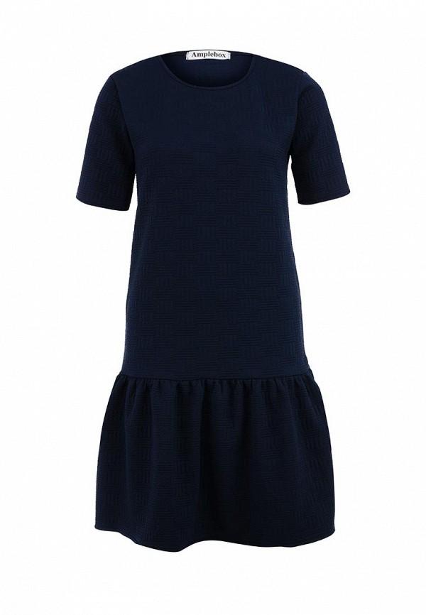Платье-миди Amplebox 13422: изображение 1