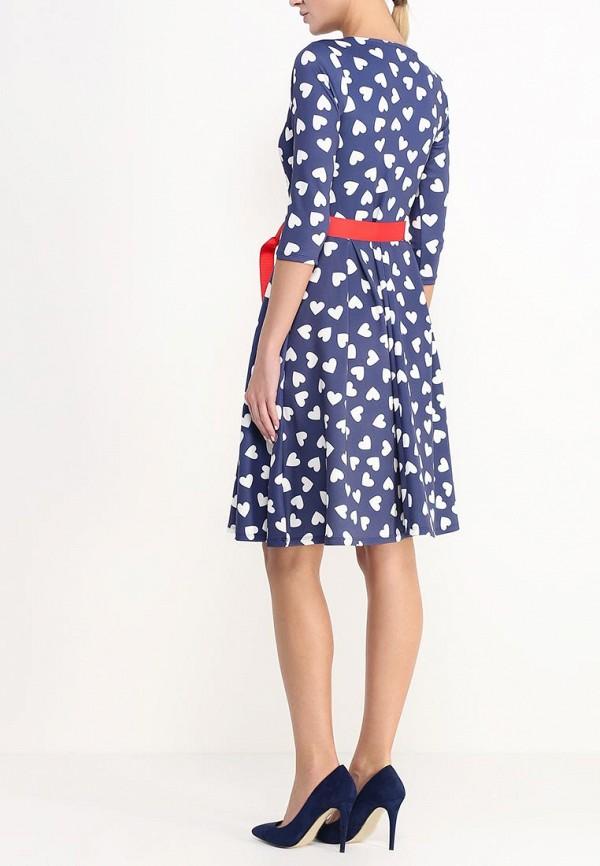 Платье-миди Amplebox 13668: изображение 4