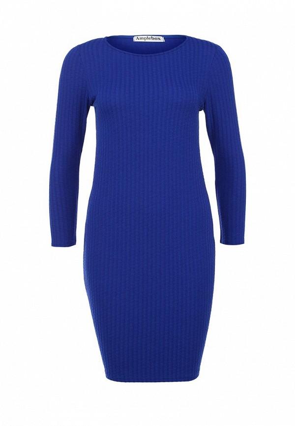 Платье-миди Amplebox 13775: изображение 1