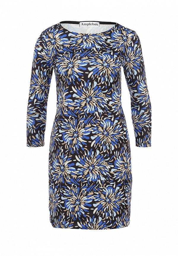Платье-мини Amplebox 13775A: изображение 1
