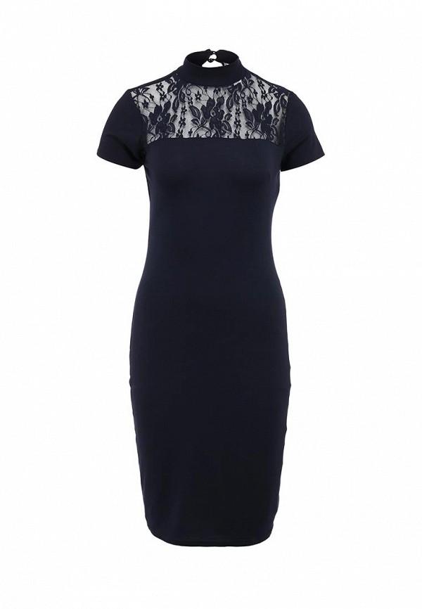 Платье-миди Amplebox 13781: изображение 1