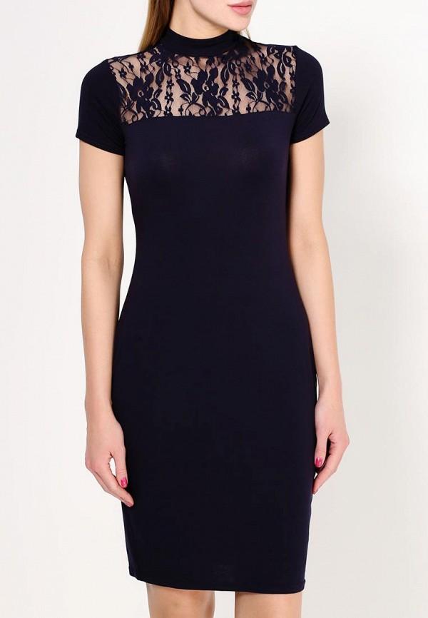 Платье-миди Amplebox 13781: изображение 3