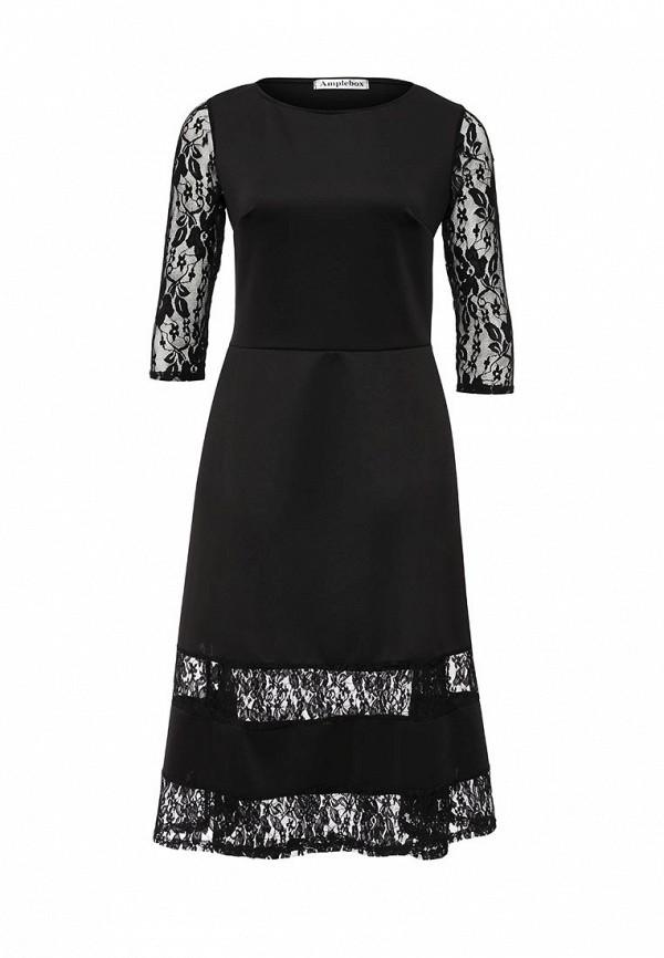 Платье Amplebox 13624: изображение 2