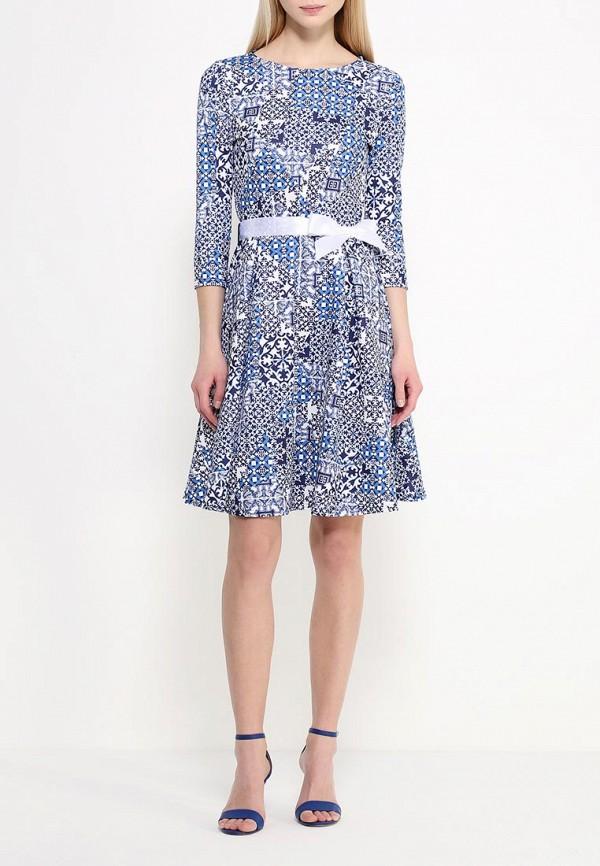 Платье-миди Amplebox 13668E: изображение 2
