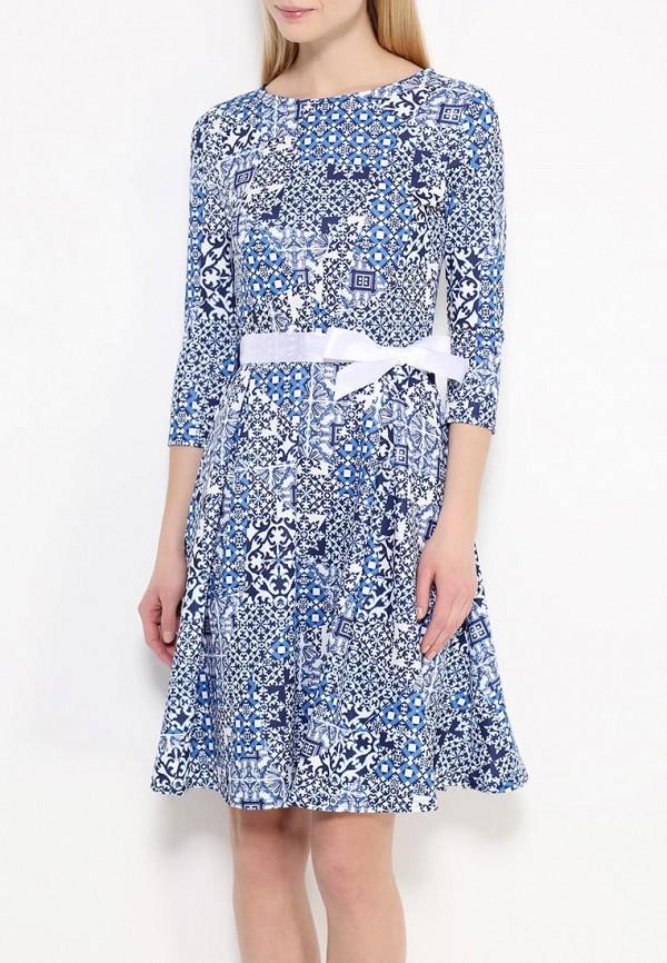 Платье-миди Amplebox 13668E: изображение 3