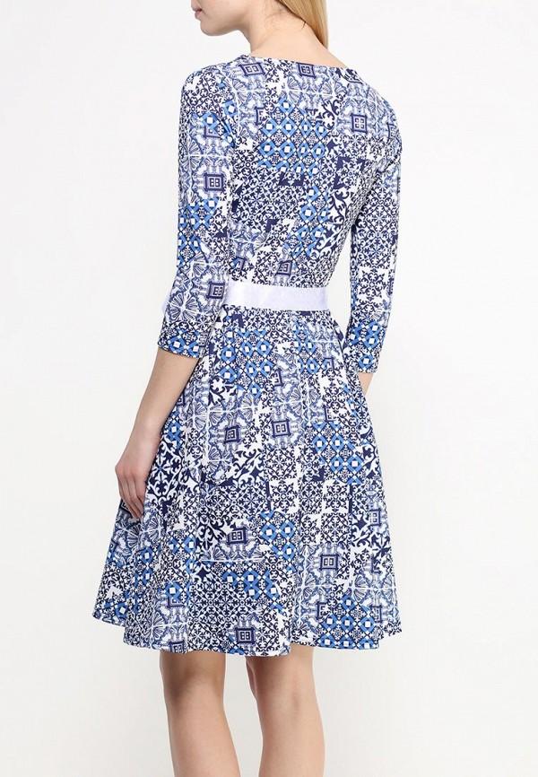 Платье-миди Amplebox 13668E: изображение 4