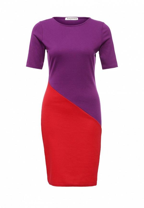 Платье-миди Amplebox 13776A: изображение 2