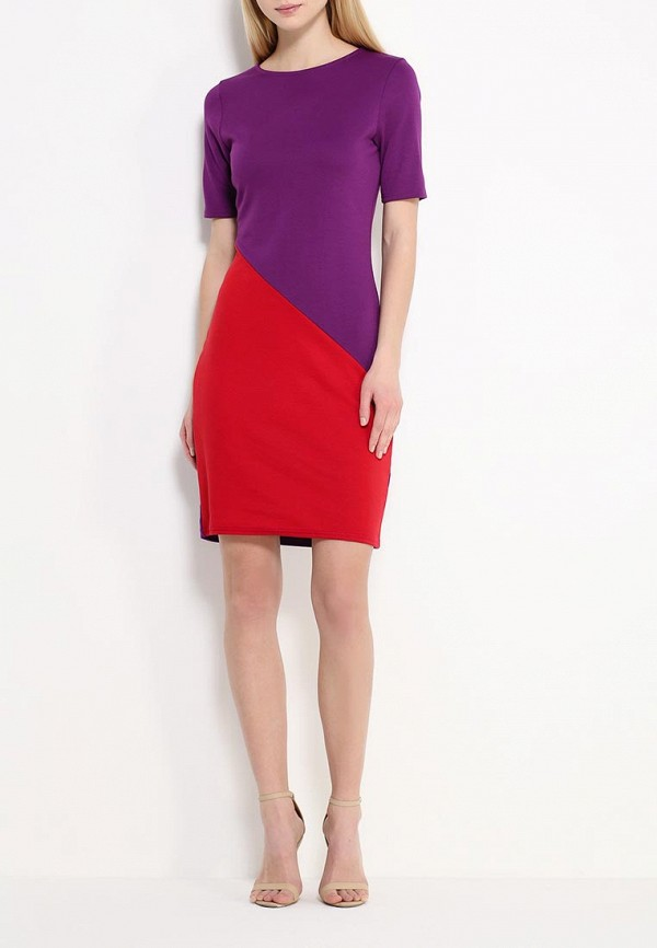 Платье-миди Amplebox 13776A: изображение 3