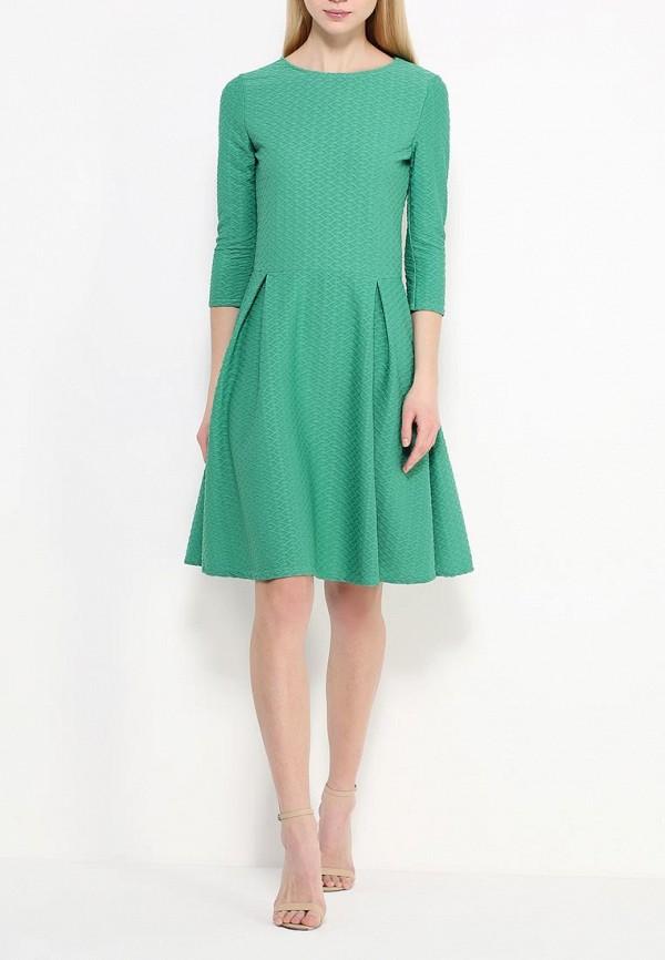 Платье-миди Amplebox 13668: изображение 2