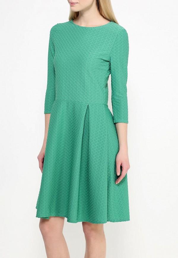 Платье-миди Amplebox 13668: изображение 3