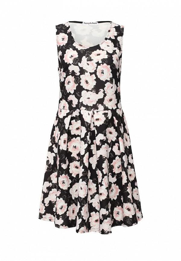 Платье-миди Amplebox 12623: изображение 1
