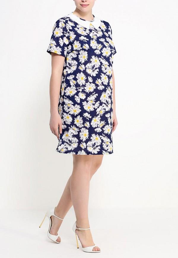Платье Amplebox Size Plus 13588B: изображение 3