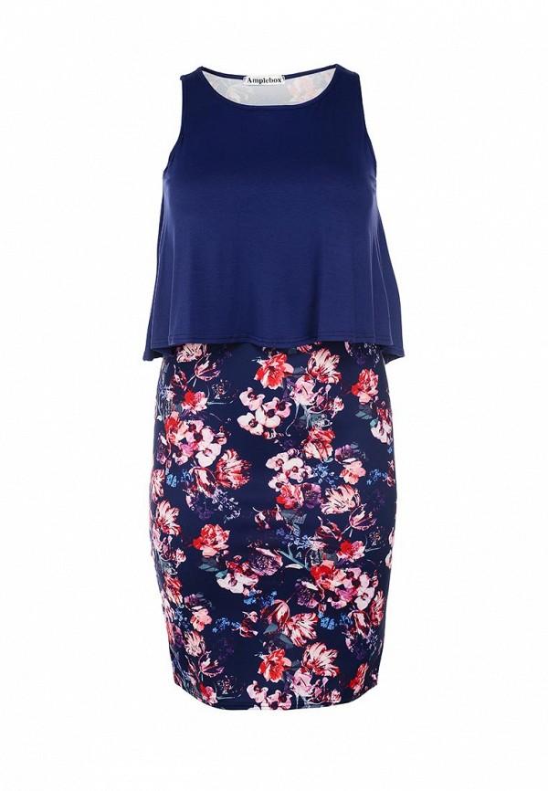 Платье Amplebox Size Plus 13369A: изображение 1