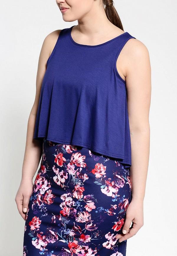 Платье Amplebox Size Plus 13369A: изображение 2