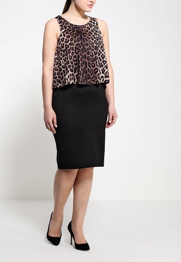 Платье Amplebox Size Plus 13369B: изображение 3