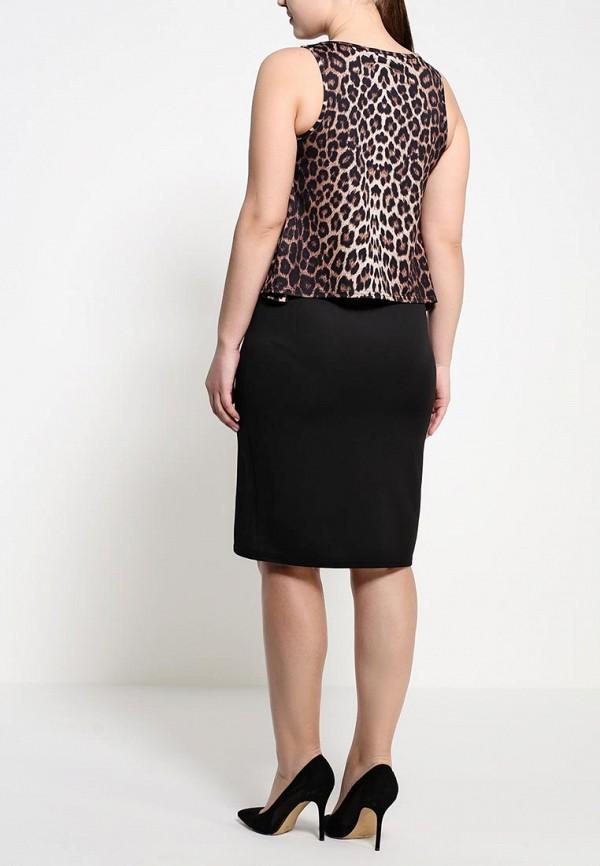 Платье Amplebox Size Plus 13369B: изображение 4