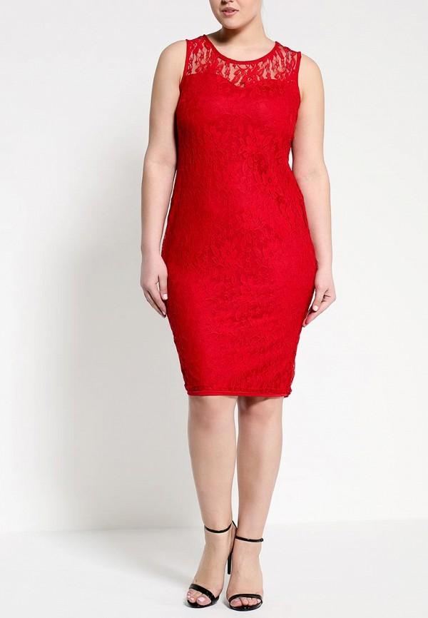 Платье Amplebox Size Plus 12982A: изображение 3