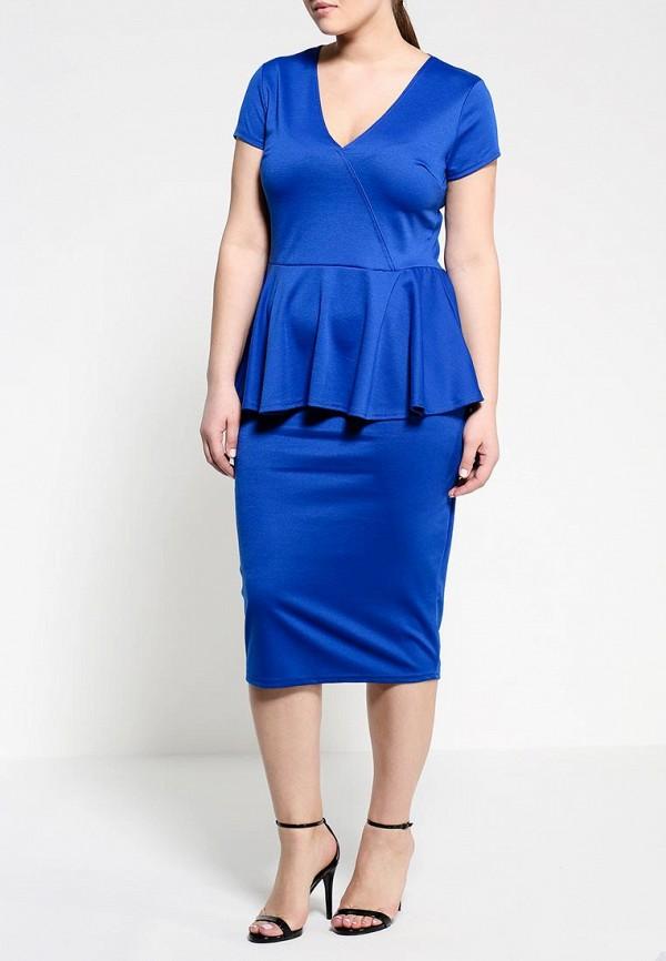 Прямая юбка Amplebox Size Plus 13335B: изображение 3