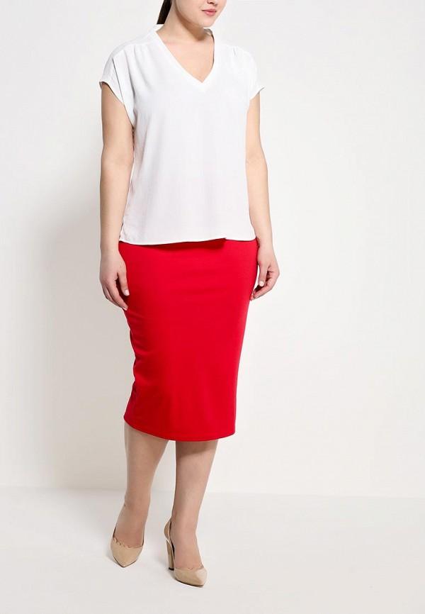 Прямая юбка Amplebox Size Plus 13335C: изображение 3