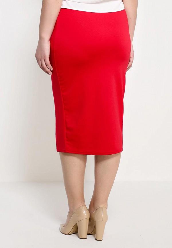 Прямая юбка Amplebox Size Plus 13335C: изображение 4