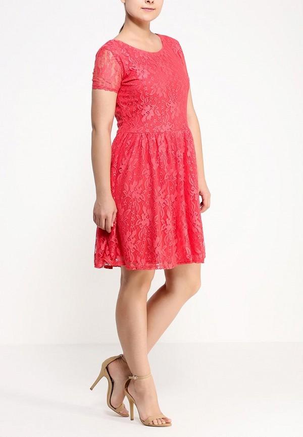 Платье Amplebox Size Plus 12772K1: изображение 3