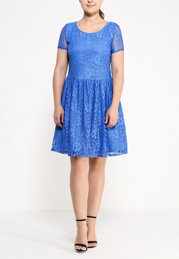 Платье Amplebox Size Plus 12772K2: изображение 3