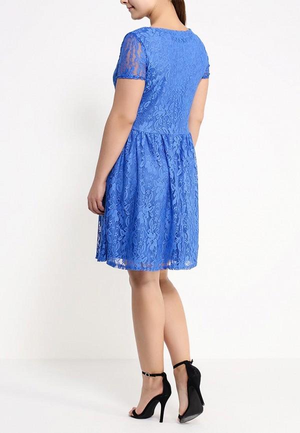 Платье Amplebox Size Plus 12772K2: изображение 4