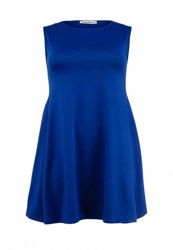 Платье Amplebox Size Plus 13597: изображение 1