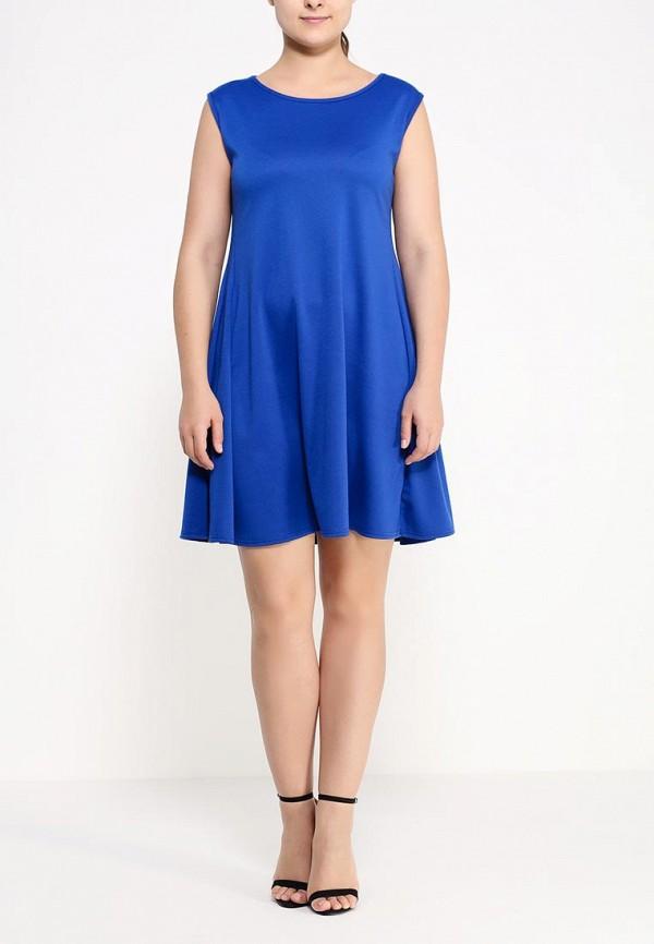 Платье Amplebox Size Plus 13597: изображение 3
